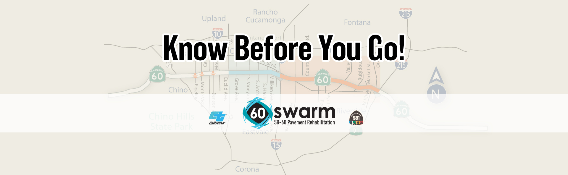 Know before you go - 60 swarm road closures