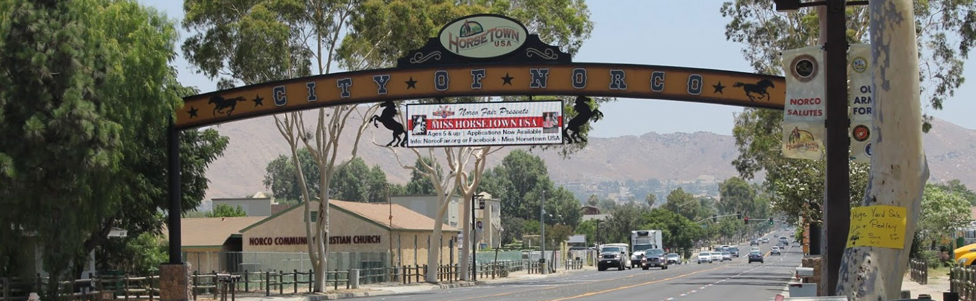 City of Norco sign