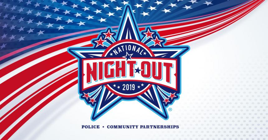 National Night Out, Tuesday August 6